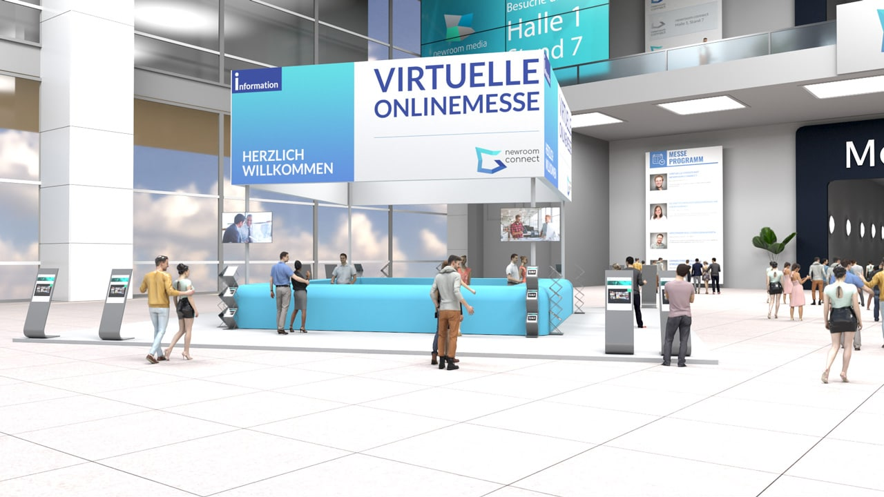 Virtual Infopoint of an Online Expo