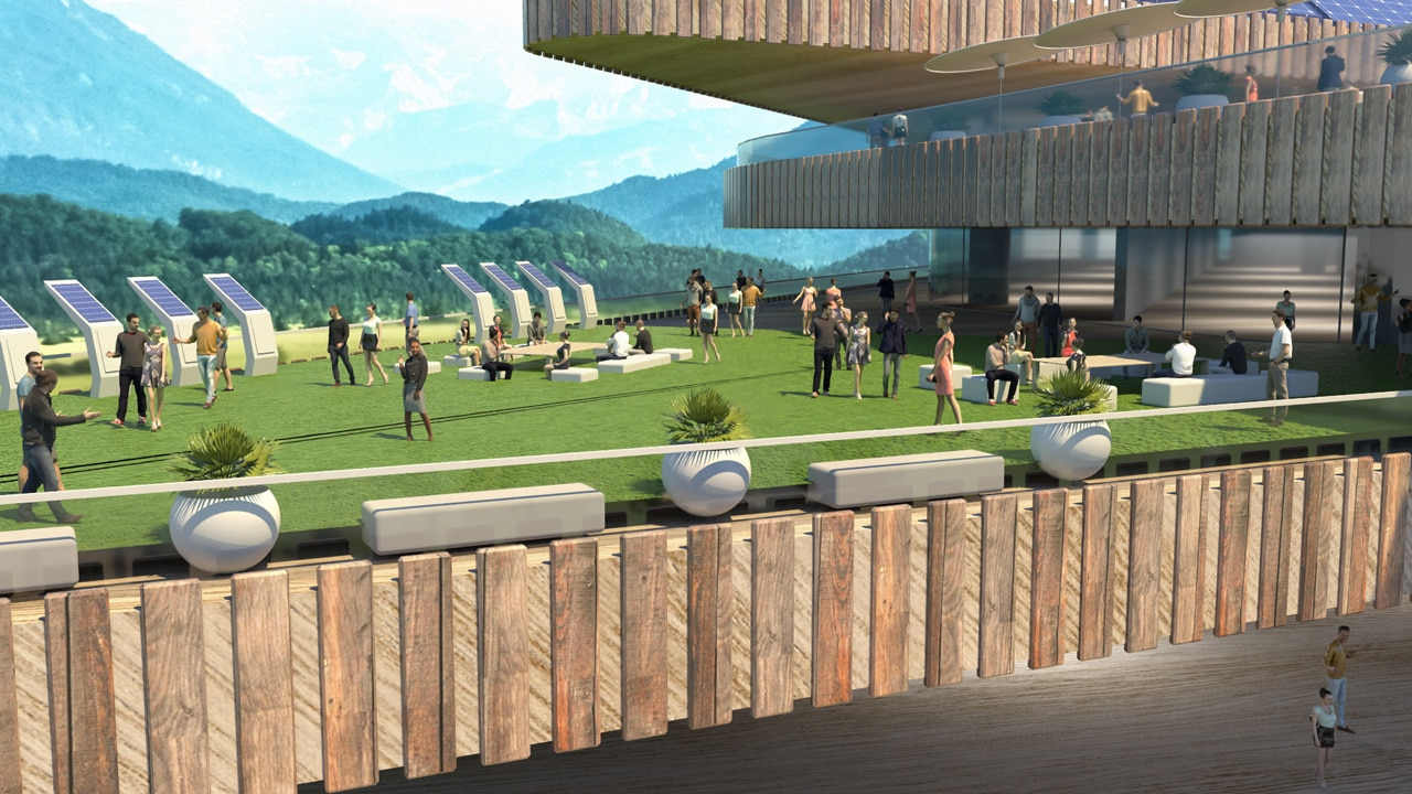 Exterior of the Agryd Virtual Expo